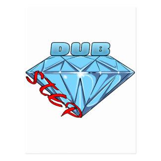 Dubstep Diamond Postcard