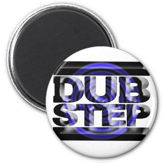 DUBSTEP dub step t shirt blue spin rusko caspa Magnet