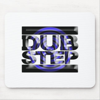 DUBSTEP dub step t shirt blue spin rusko caspa Mouse Pad