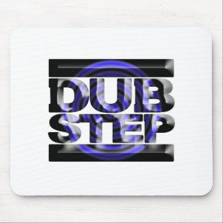 DUBSTEP dub step t shirt blue spin rusko caspa Mouse Pad