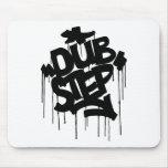 Dubstep FatCap Black Mouse Pad
