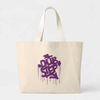 Dubstep FatCap Kush Purple Large Tote Bag