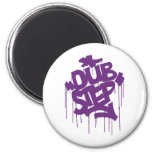 Dubstep FatCap Kush Purple Refrigerator Magnet