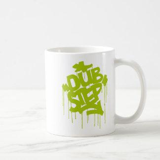 Dubstep FatCap Lime Coffee Mug