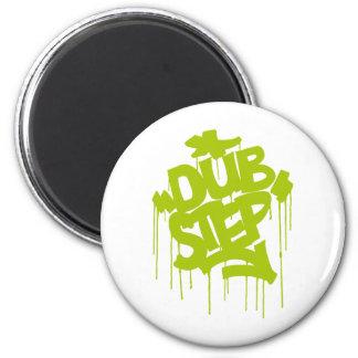 Dubstep FatCap Lime Magnet