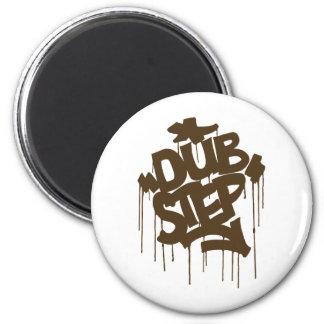 Dubstep FatCap Mushroom Brown Magnet