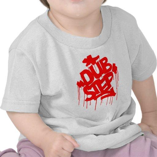 Dubstep FatCap Red Tshirts