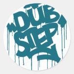 Dubstep FatCap Reef Blue Sticker