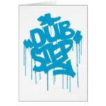 Dubstep FatCap Sky Blue Cards