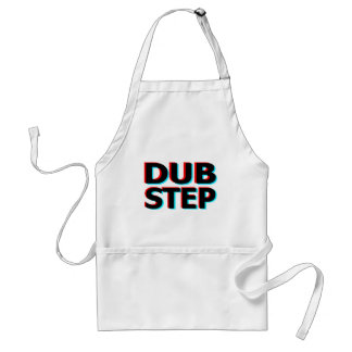 Dubstep Filthy dub step bass techno wobble Adult Apron