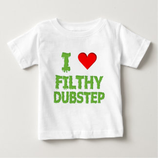 Dubstep Filthy dub step bass techno wobble Baby T-Shirt