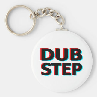 Dubstep Filthy dub step bass techno wobble Keychain