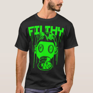 Dubstep Filthy Gas Mask T-Shirt
