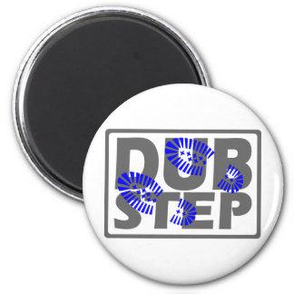 Dubstep foot stomp design magnets