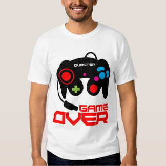 Dubstep Game Over t-shirt