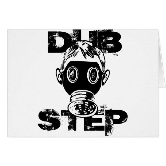 Dubstep Gas Mask Card