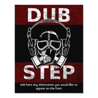 Dubstep gas mask & headphones CUSTOMIZABLE Card