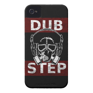 Dubstep gas mask & headphones iPhone 4 cover