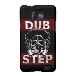 Dubstep gas mask & headphones samsung galaxy s2 cover