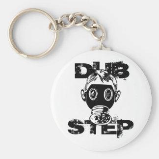 Dubstep Gas Mask Key Chain