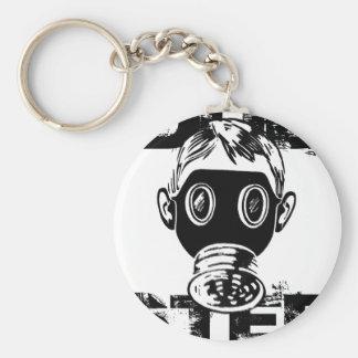 Dubstep Gas Mask Keychains