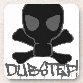 Dubstep Gas Mask Skull Coasters