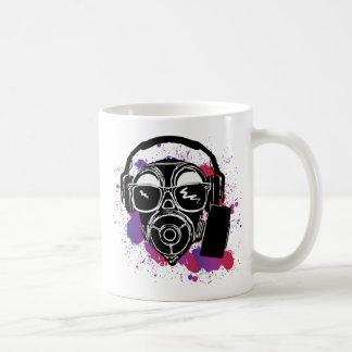 Dubstep Gasmask Coffee Mug