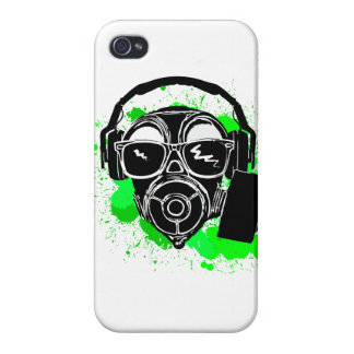Dubstep Gasmask iPhone 4/4S Cases
