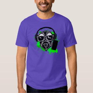 Dubstep Gasmask Tee Shirt