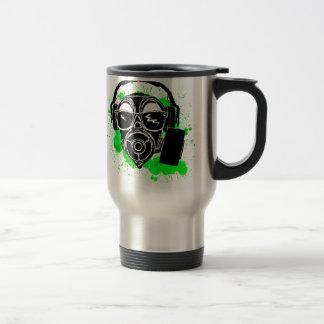 Dubstep Gasmask Travel Mug