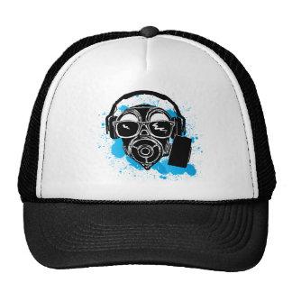 Dubstep Gasmask Trucker Hat