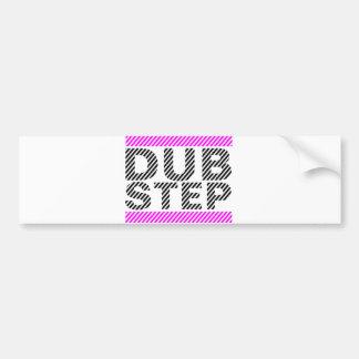 Dubstep Girls Pink Bumper Sticker