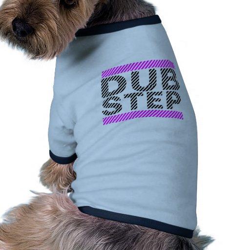Dubstep Girls Pink Dog T-shirt