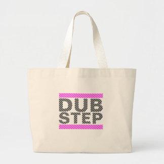 Dubstep Girls Pink Large Tote Bag