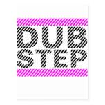 Dubstep Girls Pink Post Card