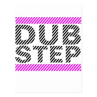 Dubstep Girls Pink Postcard