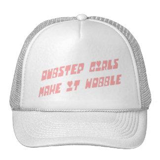 Dubstep girls wobble trucker hat