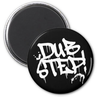 Dubstep Graffiti Style 2 Inch Round Magnet