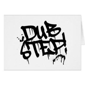 Dubstep Graffiti Style Card
