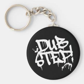 Dubstep Graffiti Style Keychain