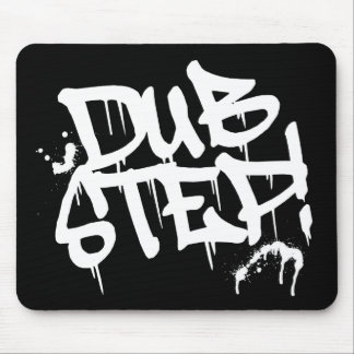 Dubstep Graffiti Style Mouse Pad