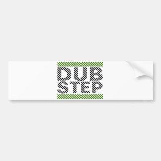 Dubstep Green Bumper Sticker