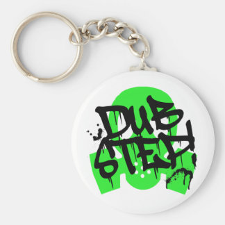 Dubstep Green Gasmask Keychains