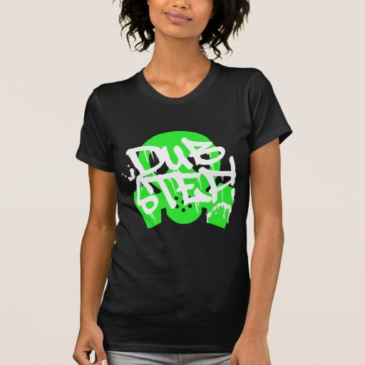 Dubstep Green Gasmask Shirt