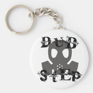 Dubstep Grey Gas Mask Key Chains