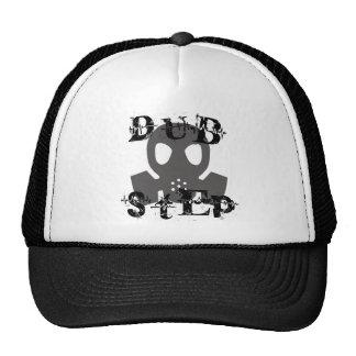 Dubstep Grey Gas Mask Trucker Hat