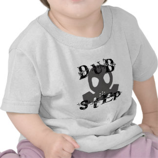 Dubstep Grey Gas Mask T-shirts