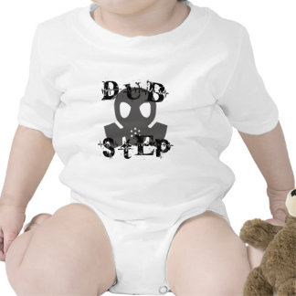 Dubstep Grey Gas Mask Rompers