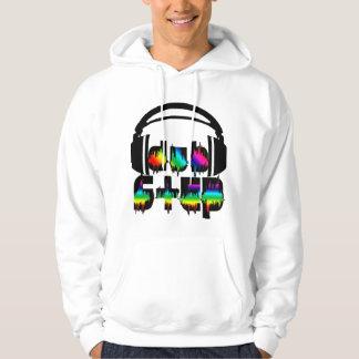 Dubstep Headphones Hooded Pullover