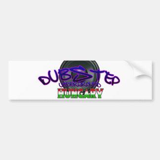 Dubstep Hungary Budapest DUBSTEP Hungarian DUBSTEP Bumper Sticker